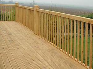 decking rails